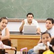 Children at school classroom — Stock Photo #10419938