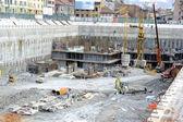 Construction site underground — Stock Photo