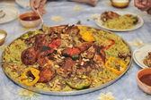 Arabian food — Stock Photo