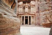 Petra, starobylé město, jordánsko — Stock fotografie