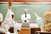 Ramadan tid i skolan — Stockfoto