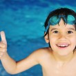 Little boy at swimming pool — Stock Photo #10421518