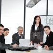 Business group meeting portrait — Stockfoto