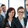 Stock Photo: Happy smiling business team