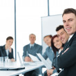 A group of business in a conference room — Stock Photo