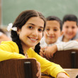 Children at school classroom — Stock Photo #10422500