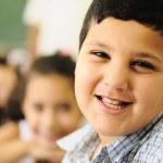 dzieci w klasie szkoły — Zdjęcie stockowe