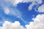 Beautiful sky and clouds — Stock Photo