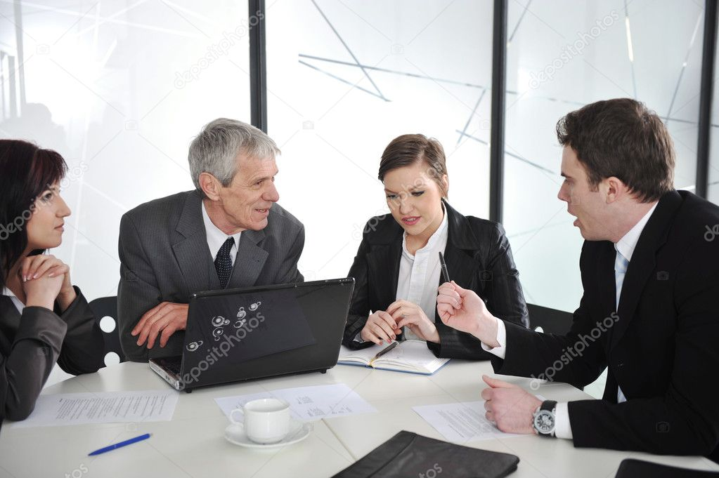 Business discussion at meeting room — Stock Photo #10421624