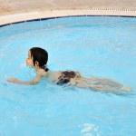 Boy in swimming pool — Stock Photo #8843700