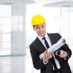 Successful engineer indoor — Stock Photo #8844078