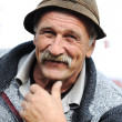 Very Nice Image of a Happy Old man Smiling — Stock Photo