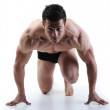 The Perfect male body - Awesome bodybuilder posing — Stock Photo #8846329