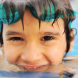 Royalty-Free Stock Photo: Summertime and swimming activities for happy children on the pool