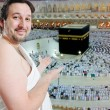 On holy islamic duty in Makka, Saudi Arabia — 图库照片 #8847040