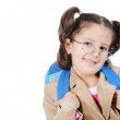 schoolgirl&quot — Stock Photo