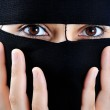 Asian arabic muslim woman with significant clothes — Stock Photo