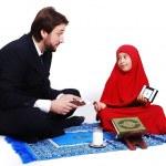 Muslim fasting activities in Ramadan month — Stock Photo #8848061