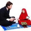 Stock Photo: Muslim fasting activities in Ramadmonth