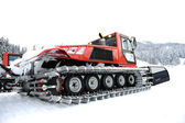 Snow vehicle — Stock Photo