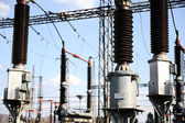 Power station for making electric energy — Stock Photo