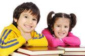 Children with books — Stock Photo