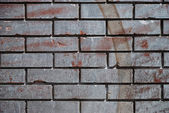 Brick wall pattern, old look, great for design — Stock Photo