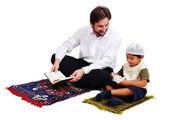 Muslim worship activites in Ramadan holy month — Stock Photo