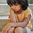 Stockfoto: Poverty and poorness on expression of children