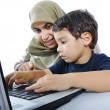 Muslim mother — Stock Photo #9992782