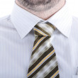 Tie, man, shirt — Stock Photo