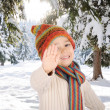 Winter happiness — Stock Photo #9993066