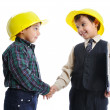 Young engineers — Stock Photo #9993150