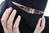 パレスチナ女性のベール — ストック写真