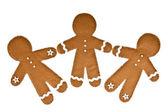 Gingerbread men — Foto Stock