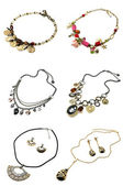 A set of necklaces — Stock Photo