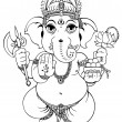 Ganesha - Stock Photo