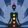 Stock Photo: Chakras