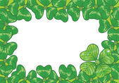 Vector background for St. Patrick's Days — Stock Photo