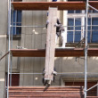 Scaffold builders — Stockfoto
