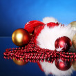 Background of Christmas balls — Stock Photo #8446448