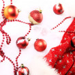 Background of Christmas balls — Stock Photo #8446462