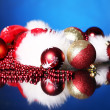Background of Christmas balls — Stock Photo #8446466