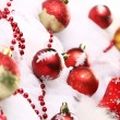 Background of Christmas balls — Stock Photo #8446506