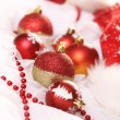 Stock Photo: Background of Christmas balls