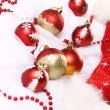 Background of Christmas balls — Stock Photo #8446519
