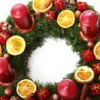 Christmas wreath — Stock Photo #8446614