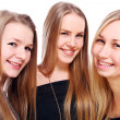 Group of young girlfriends — Stock Photo #8447145