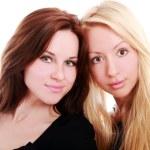 dvě krásné kamarádky — Stock fotografie