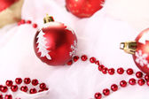 Background of Christmas balls — Stok fotoğraf